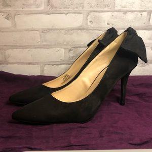 Jessica Simpson Black Pointed Toe Heels Sz 8.5